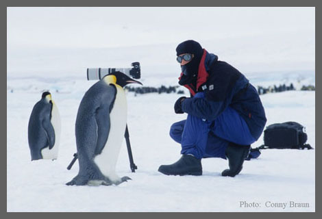 Richard in Antarctic