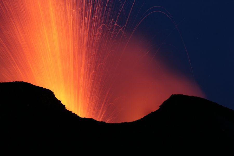 Eruption of Stro...V Is For Volcano