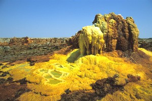 Dallol Volcano Hot Springs