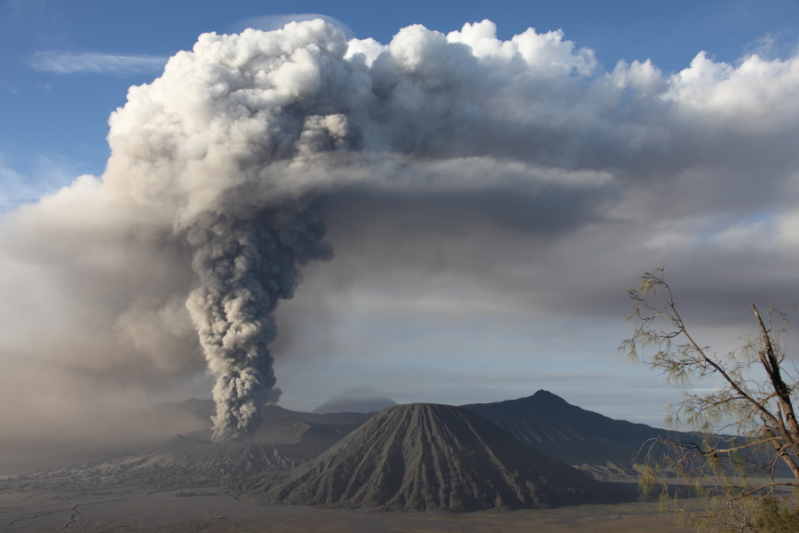 Mount Bromo, Tengger Caldera, Eruption 2010-2011