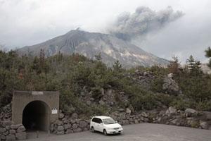Shelter, Viewpoint, Sakurajima