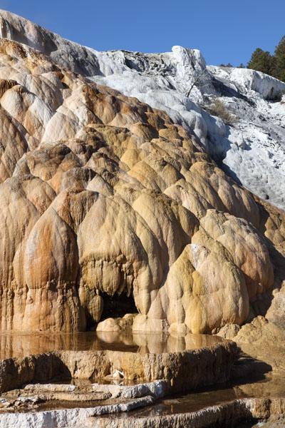 Cleopatra Terrace Mammoth Hot Springs Yellowstone National